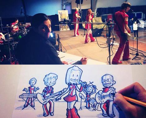 Show - Live & Draw Stefy